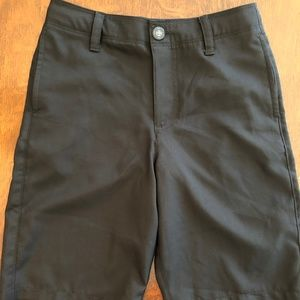 Under Armour boys' golf shorts EUC black M